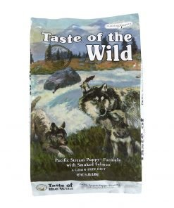 hrana caini taste of the wild pacific stream puppy pentru caini juniori