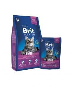 Hrana uscata pisici Brit Premium Cat Light