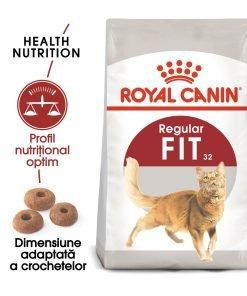 hrana uscata pisici royal canin fit