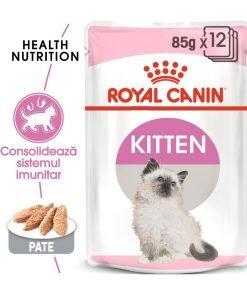 hrana umeda pisici royal canin kitten instinctve loaf