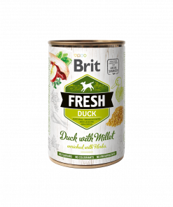 conserva caini Brit Fresh Duck with Millet