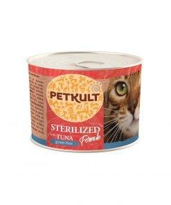 Conserva pisici Petkult Cat Sterilised Ton