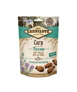 Carnilove Dog Semi Moist Snack Carp with Thyme