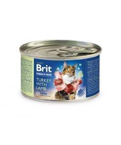 Brit Premium By Nature Cat Turkey with Lamb