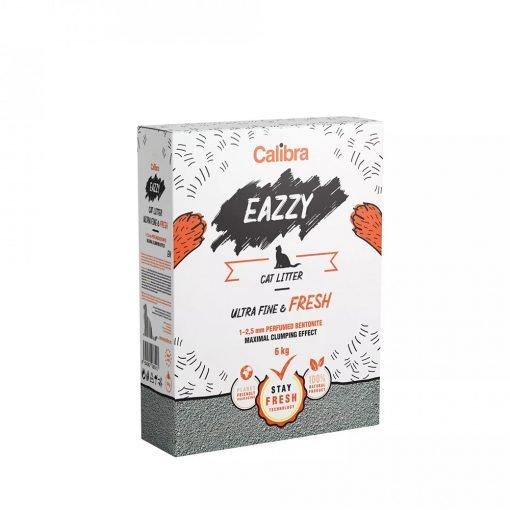 Asternut pisici Calibra Eazzy Cat Litter Ultra Fine and Fresh