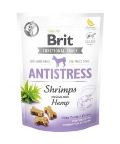 Recompense caini Brit Care Dog Snack Antistress Shrimps