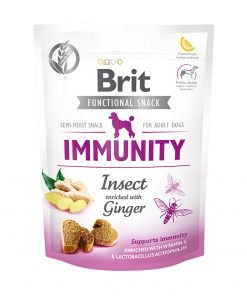 Recompense caini Brit Care Dog Snack Immunity Insect