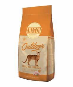 Hrana uscata pisici Araton Cat Adult Outdoor Chicken & Turkey
