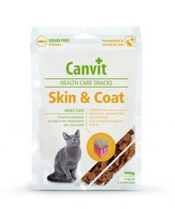 canvit healthe care skin and coat pentru pisici