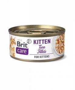 Hrana umeda Pisici Brit Care Cat Kitten Tuna Fillets