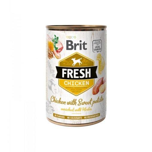 Brit Fresh Chicken with Sweet Potato