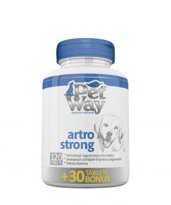 Petway Artro Strong este un supliment nutritional ce reduce riscul aparitiei osteoartitei