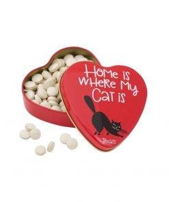 Sanal Cat Vitamin Treats Heart Tin 60 gr