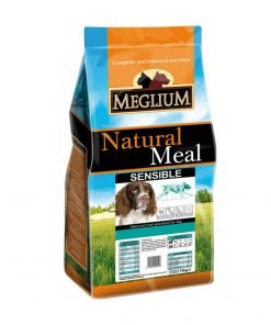hrana uscata caini meglium sensible miel