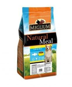hrana uscata caini meglium dog sensible fish cu peste pentru caini sensibili